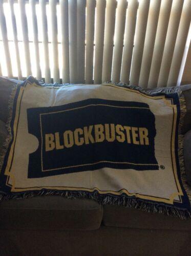 Blockbuster Blanket/ throw  Rare