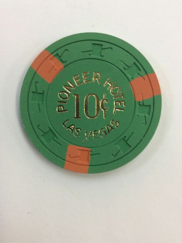 Pioneer Hotel Casino Las Vegas NV 10 Cent Chip 1955