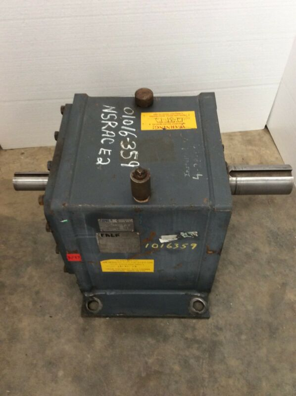 Falk Ultramax Gear Drive Model 2080fc2a Ratio 25.63 Hp 71.1 Inline Reducer