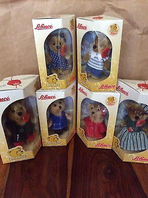 6 Schuco Bearli bears