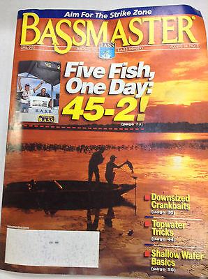Bassmaster Magazine Five Fish One Day April 2001 042617Nonr2