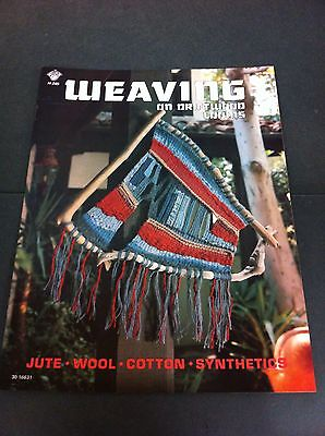 70's Vintage Weaving On Drift Wood Looms Instruction Pattern Craft Book