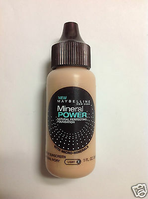Maybelline Mineral Power Natural Perfecting Foundation NATURAL IVORY LIGHT-3.
