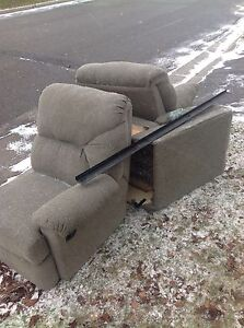 3 piece couch with recliners