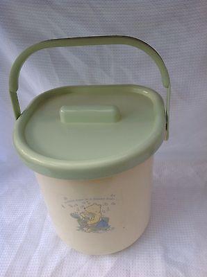 Winnie The Pooh Baby Nursery Soaking Nappy Bucket