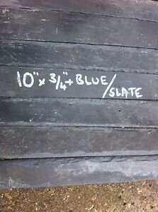Welsh Blue Slate Plant Labels  X 12 X 10Inch By 3/4 Inch Markers