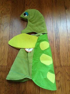 2 Pc Pottery Barn Kids New Sea Turtle adorable Halloween costume size 3-6 Mos o - Sea Turtle Halloween Costume