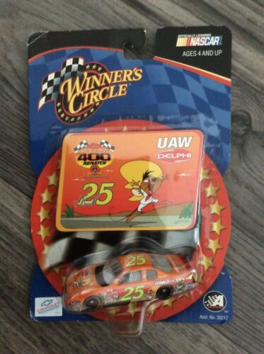 VTG., RARE, 2002, SPEEDY GONZALES, JOE NEMECHEK #25, DIE CAST CAR, NEW, NASCAR