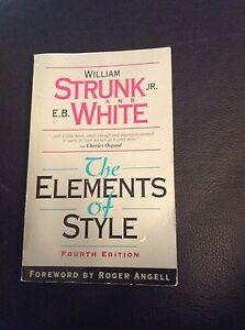 The elements of Styles book