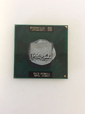 Intel Core 2 Duo T5600 Merom 1.83 GHz CPU Socket P 34W Dual Core Processor SL9SG
