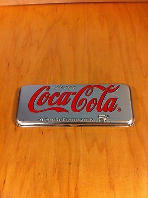 Coca Cola At The Soda Fountains Pencil Box *
