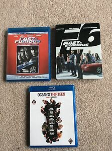 Fast & Furious, Fast & Furious 6, & oceans 13
