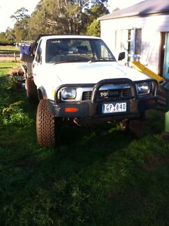 V8 hilux engineered ln106 single cab tray ute PRICE REDUCED Silvan Yarra Ranges Preview