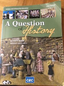 «A question of history» Secondary 4 history book