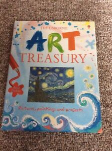 The Usborne Art Treasury Book