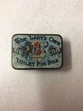The Lady's Own Toilet Pin Box Carina Brisbane South East Preview