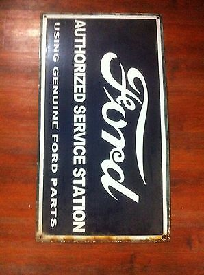 Reproduction FORD Enamel Sign