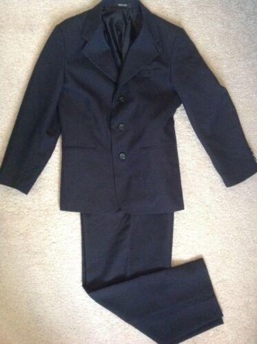 Boys Arrow 2 pc Navy Blue Suit Set Jacket & Trousers Sz 12