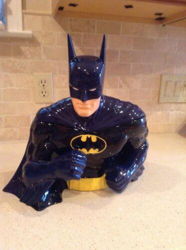 Warner Bros Studio Store Batman Cookie Jar 2000