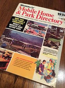 Woodall 1974 Mobile Home & Park Directory