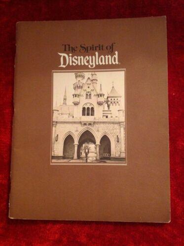 Vintage 1984 The Spirit Of Disneyland Cast Members Book