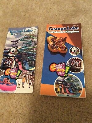 Geauga lake amusement park 2007 Brochure And Park Map