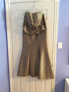 Bella Formals Bridesmaid or Mother of the Bride/Groom Dress