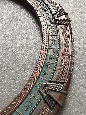 "Patinated Stargate Atlantis Ring/Replica 11 1/4"" (28.6cm)"