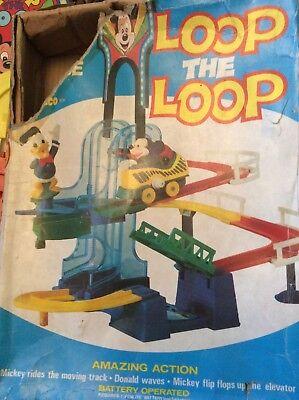 Vintage Disney Loop the Loop game (incomplete)