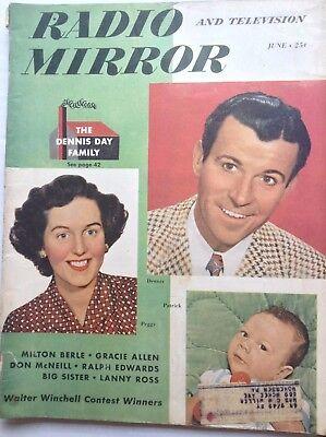 Radio Mirror Magazine The Dennis Day Family June 1949 092617nonrh