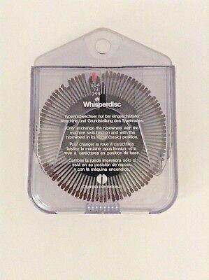 Olympia International Original Typewheel Typewriter Whisper Disc 804 12 798 00