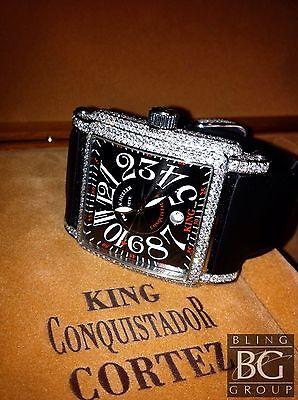 FRANCK MULLER® 17.75ct KING CORTEZ™ DIAMOND WATCH!