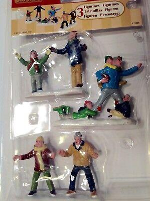 Lemax Figurine Set Family Football 72535 Christmas Village Train