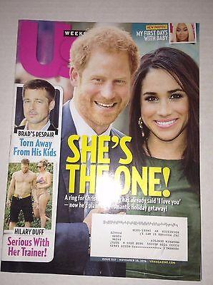 Us Weekly Magazine Prince Harry Hillary Duff Pitt November 28  2016 022817Nonrh