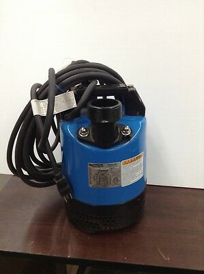Tsurumi Lb-480a-62 2 Submersible Pump Auto Electric Water Sump Pumps Dewatering
