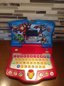 VTech - Super Hero Squad - Learning Laptop
