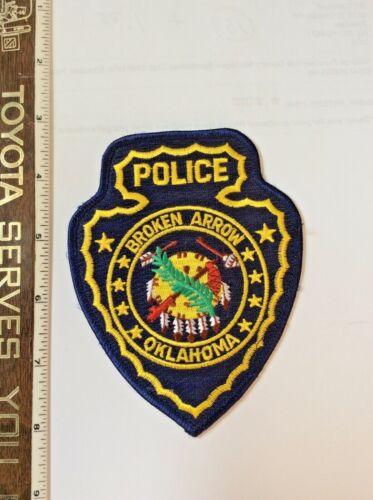 Broken Arrow Oklahoma Police Shoulder Patch New