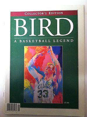 "Larry Bird - Collector's Edition - ""A Basketball Legend"" - full color - 32 pages"