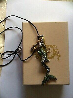 Kirks Folly Mermaid necklace BNib