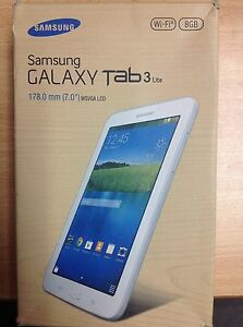 SAMSUNG GALAXY TAB 3 LITE WIFI 8GB IN BOX Joondalup Joondalup Area Preview
