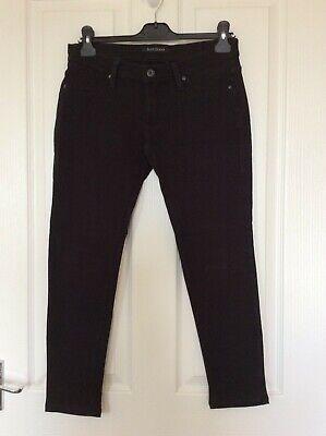 Ladies James Jeans Soft Stretch Black Skinny Jeggings size UK 10