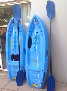 Kids kayaks Cleveland Redland Area Preview