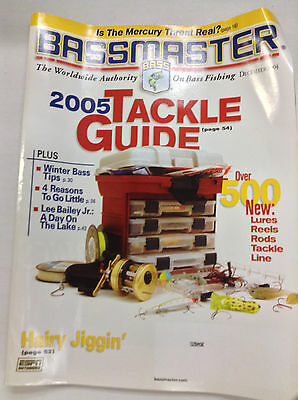 Bassmaster Magazine Tackle Guide New Lures December 2004 042617Nonr2