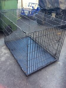 Large breed dog carrier.