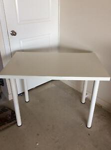 IKEA white table Burra Queanbeyan Area Preview