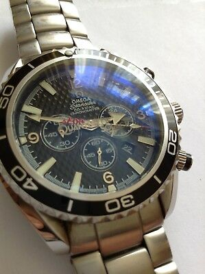 vintage omega seamaster James Bond 007 Quantum Of Solace Planet Ocean Watch