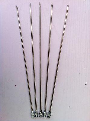 5pcs Stainless Steel Syringe Needle Dispensing Needles 2.0x200mm