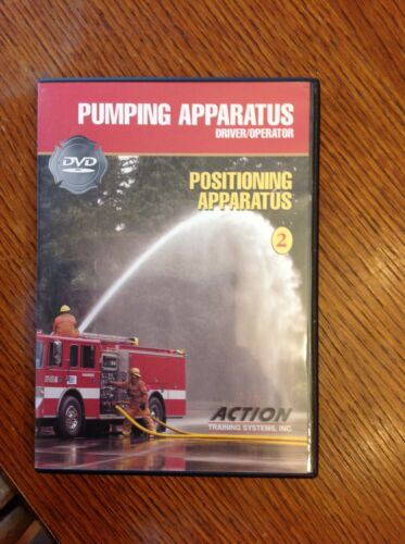 Action Training DVD Fire Fighter Pumping Apparatus - Positioning Apparatus