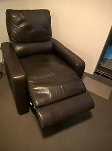 leather reclining armchair electric Ashfield Ashfield Area Preview