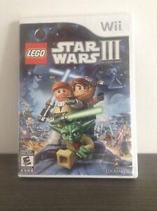 Jeu Wii Lego Star Wars III